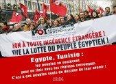 Vive la lutte du peuple égyptien !  Tous à la manifestation : SAMEDI 5 FEVRIER 2011 A PARIS