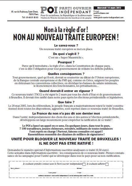 Non à la règle d'or ! NON AU NOUVEAU TRAITE EUROPEEN ! dans DEFENDRE LA REPUBLIQUE - NON A LA RIGUEUR POI-tract-14-mars-2012