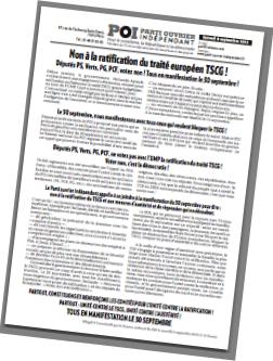 Non à la ratification du traité européen TSCG ! Députés PS, Verts, PG, PCF, votez non ! Tous en manifestation le 30 septembre ! dans AGENDA vignette-bn