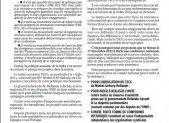 Conférence nationale pour l'unité et la résistance contre la dictature de la troïka et du TSCG